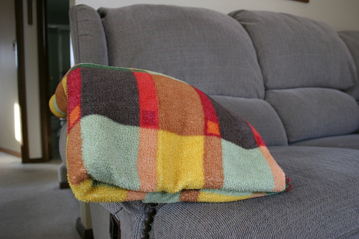 We have an abundance of fleece and wool throws at the ready.