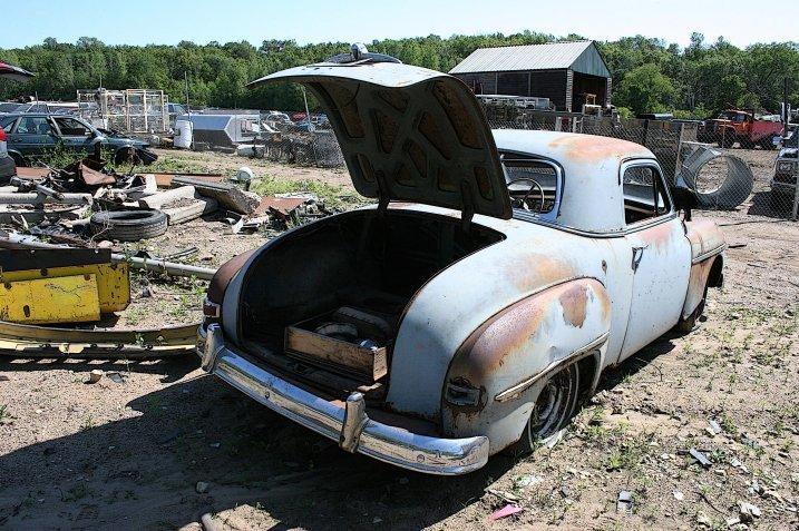 "A scene from another Faribault area ""junkyard."" Minnesota Prairie Roots file photo."