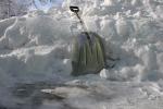 Blizzard, shovel
