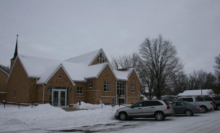 Trinity Lutheran Church, Medford, Minnesota.