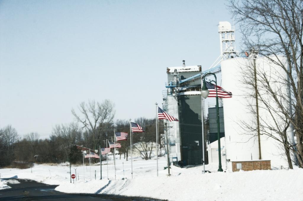 Flags, Montgomery, Minnesota, edit 1