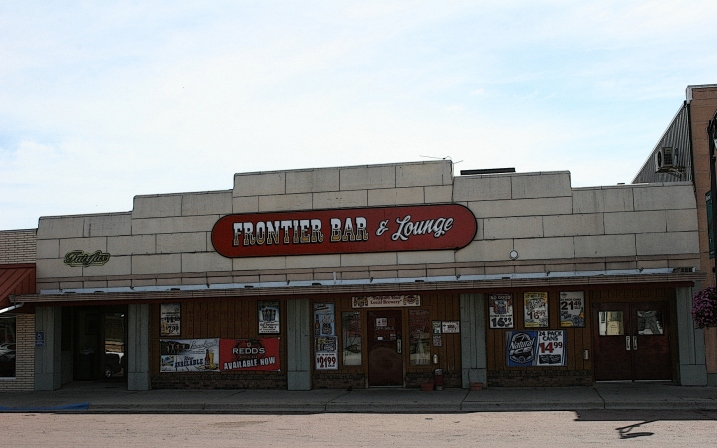 The Frontier Bar & Lounge in Fairfax, along State Highway 19 in southwestern Minnesota. Minnesota Prairie Roots edited file photo 2013.