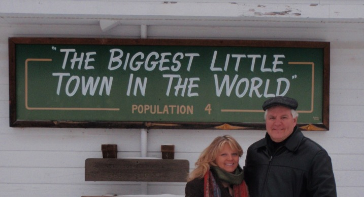 Mike and Mel Spry, Emmaville's only residents, decided not to mess with a successful marketing tool