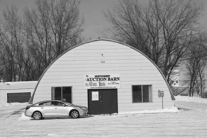 "Turek's Auction Service, 303 Montgomery Ave. S.E. (Highway 21), Montgomery, has been ""serving Minnesota since 1958."" Daniel Turek, Sr., started the third-generation family business now operated by Dan, Jr. and Travis Turek. They sell everything from antique vases to real estate."