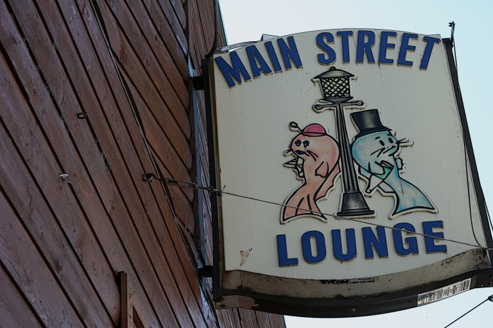 "This Main Street Lounge signage in Waterville seems fitting given the city's self designation as ""The Bullhead Capitol of the World."" Minnesota Prairie Roots edited file photo 2012."