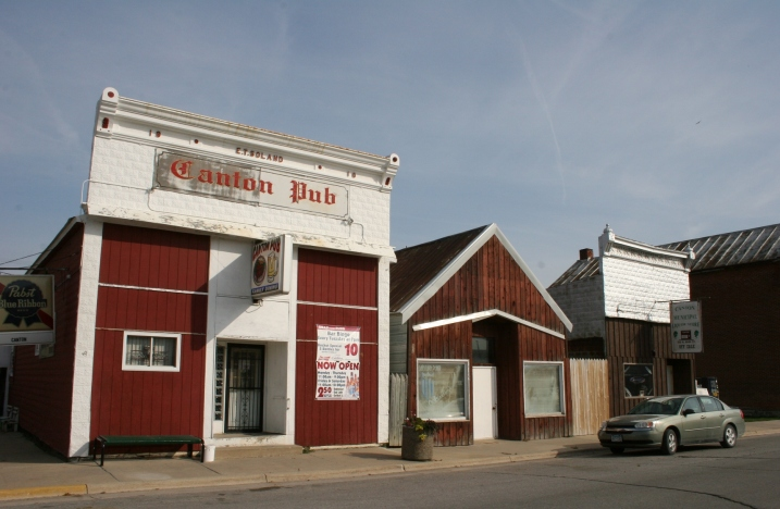 The Pub in Canton, near the Iowa border.
