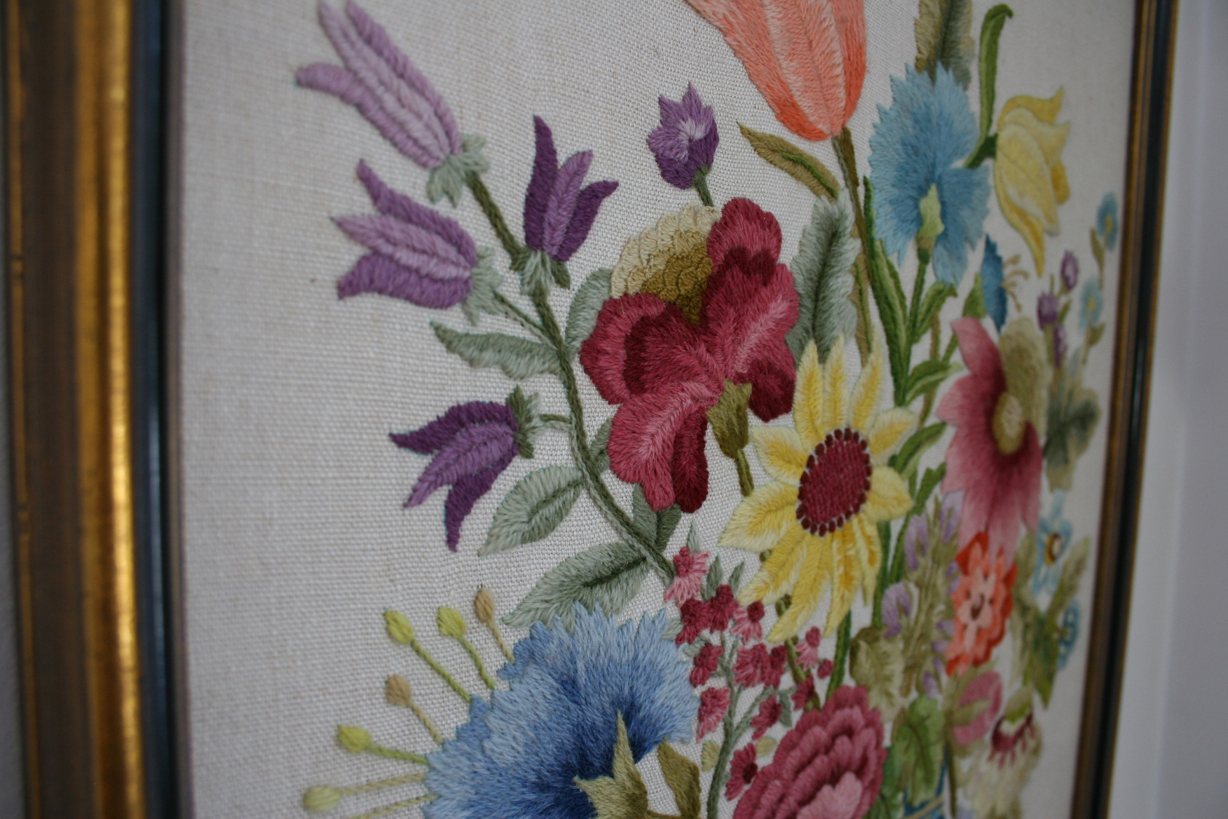 Crewel Embroidery Minnesota Prairie Roots