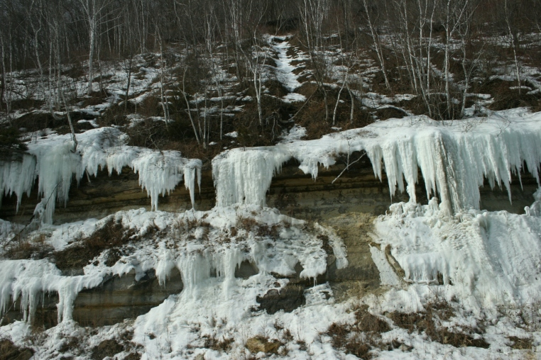 Ice formations by La Crosse 3