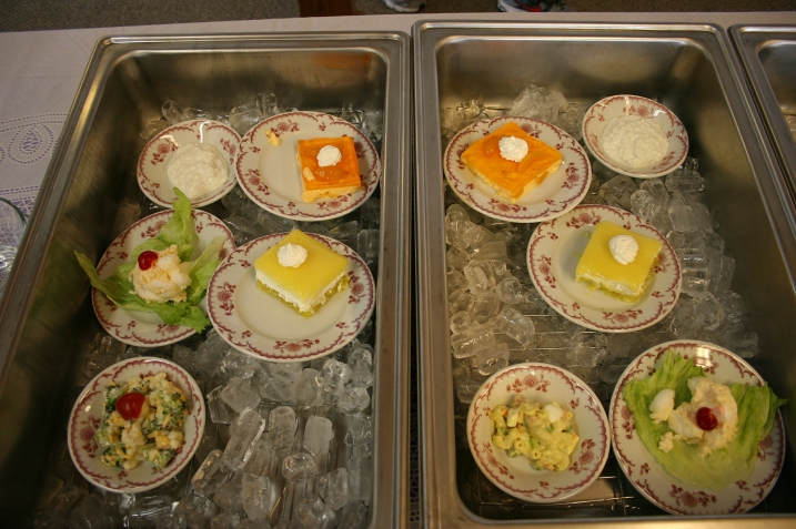 Salad options.