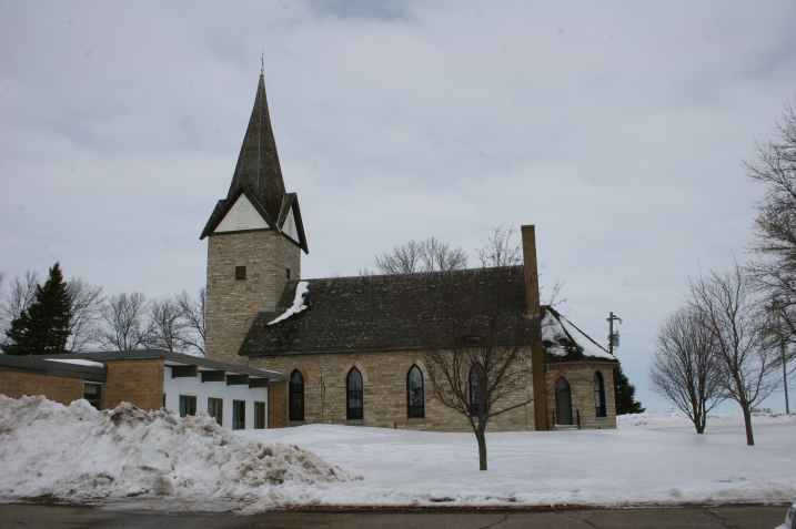St. John's United Church of Christ, Wheeling Township, rural Faribault.