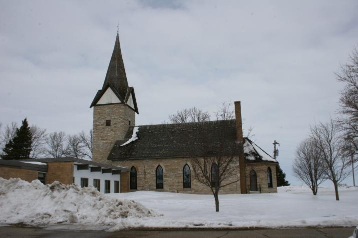 St. John's United Church of Christ, Wheeling Township, rural Faribault.