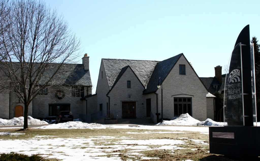 The museum is housed in an historic home (and addition) along the shores of Lake Winnebago across from a park.