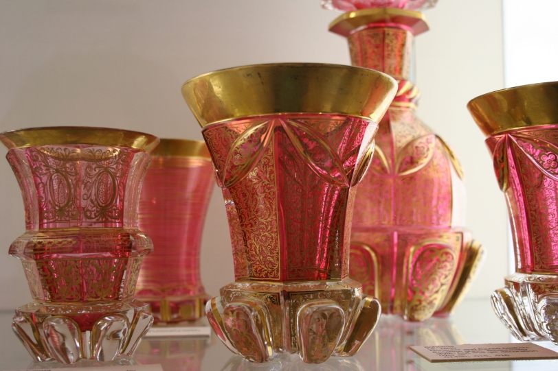 Examples of the beautiful glassware.