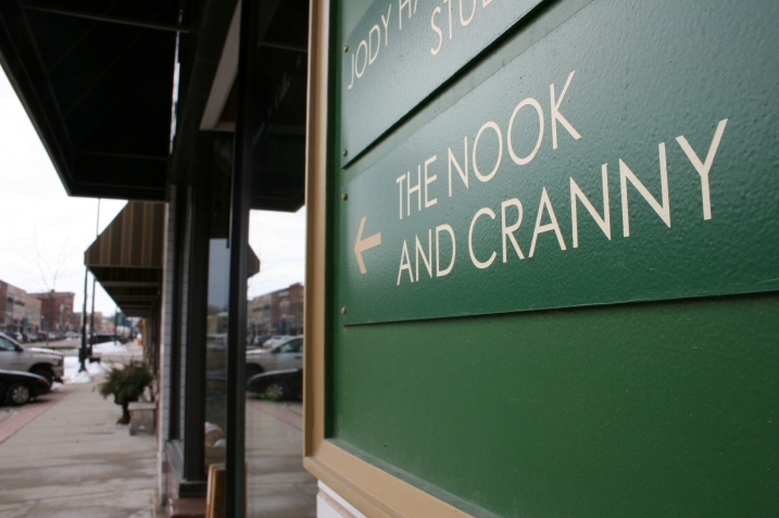 The Nook & Cranny is among numerous one-of-a-kind locally-owned specialty shops in historic downtown Faribault.