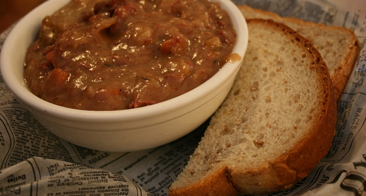 The Olde Triangle's hearty Irish stew.