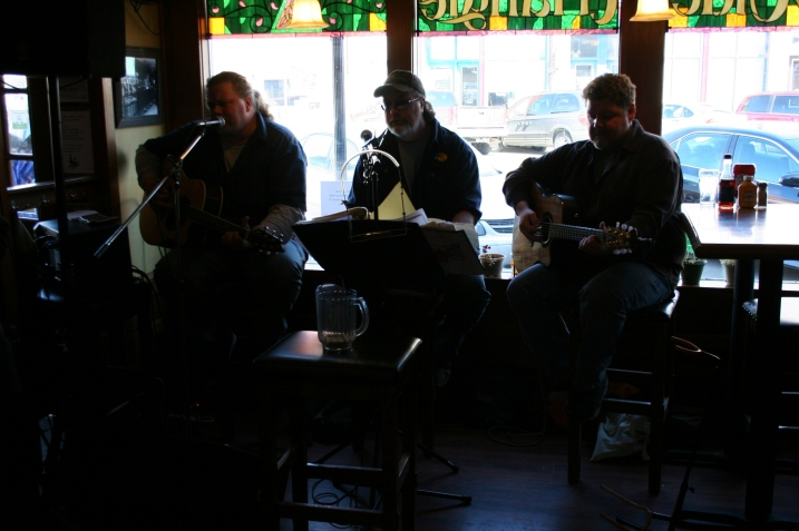 Performing at The Olde Triangle Pub Sunday afternoon.