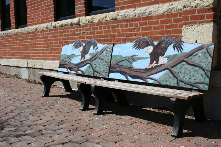 Wabasha, eagle bench