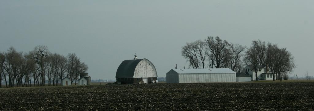 Along U.S. Highway 14 between Mankato and Nicollet, MN.