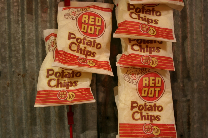 Red Dot potato chips