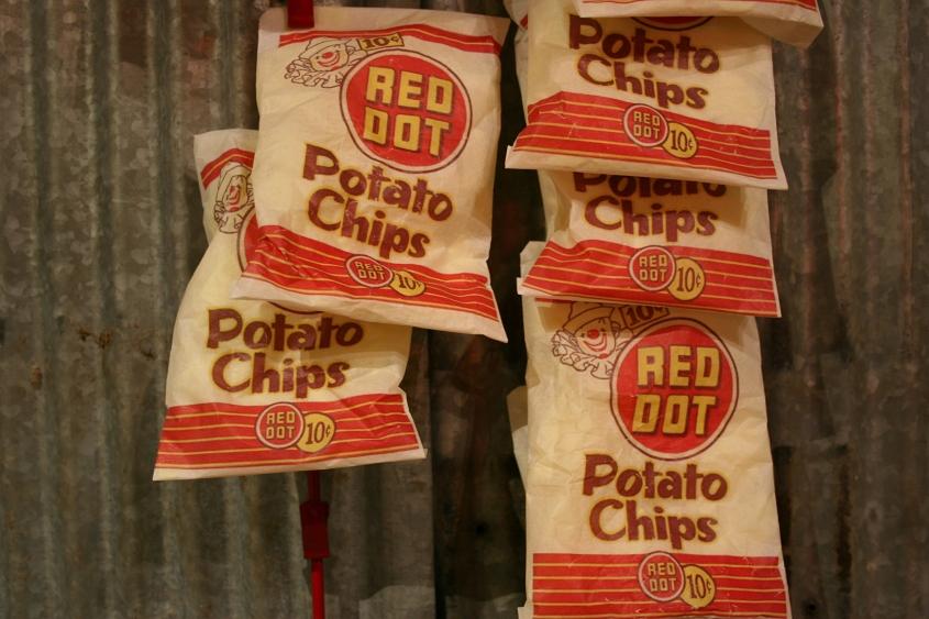 Red Dot potato chips