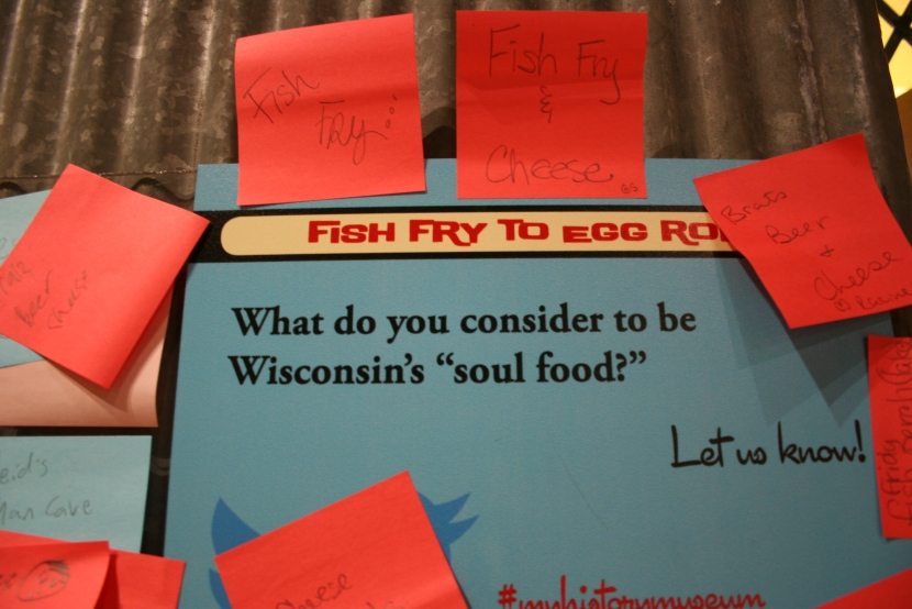 "See how visitors answered this question about Wisconsin's ""soul food."" lots of cheese, brats and beer answers."