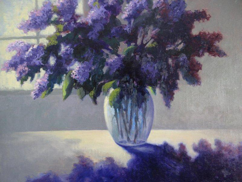 """Lilacs on the Table"" by Jeanne Licari"