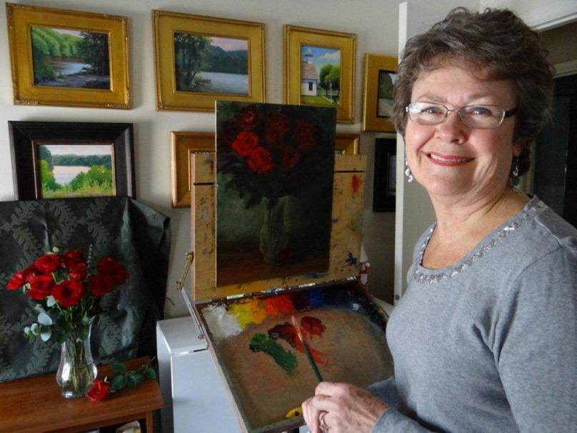 Artist Jeanne Licari