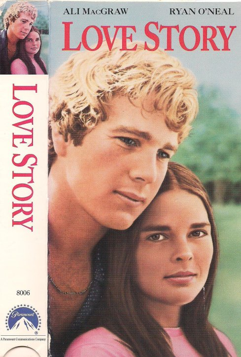 I now own a VHS copy of Love Story, purchased from the discard shelf at my local library.
