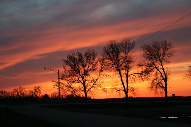 Prairie sunset 55