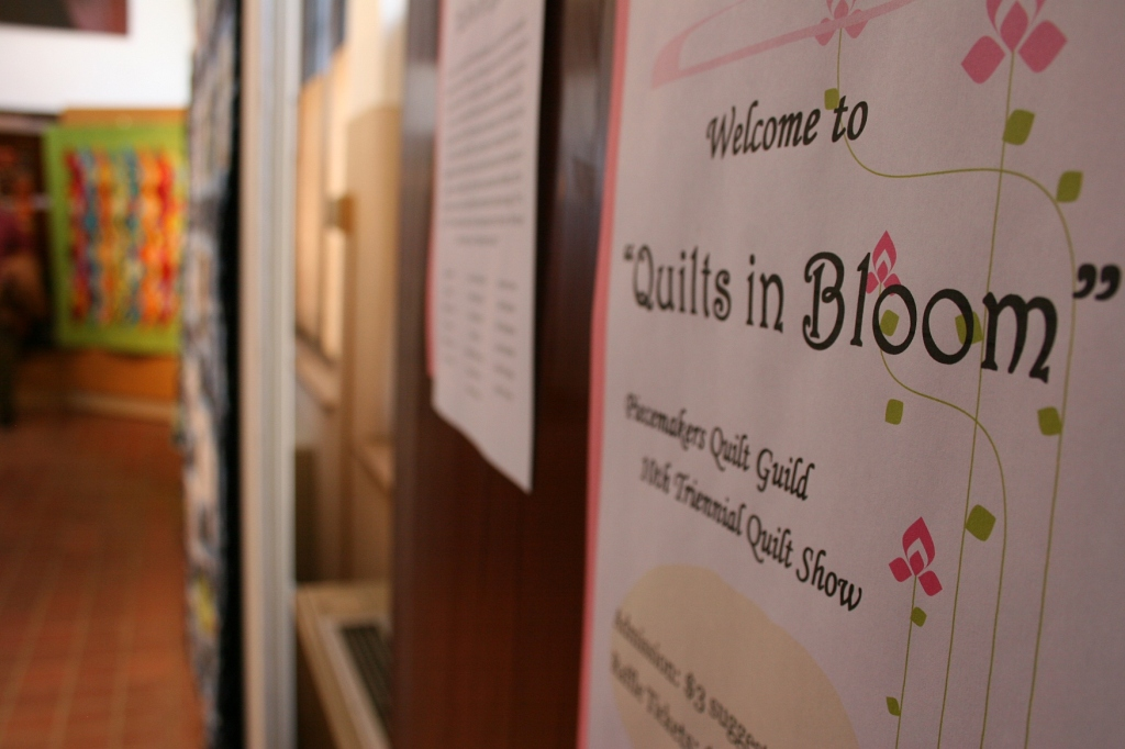 """If you appreciate art and quilts, you will want to see """"Quilts in Bloom"""""""