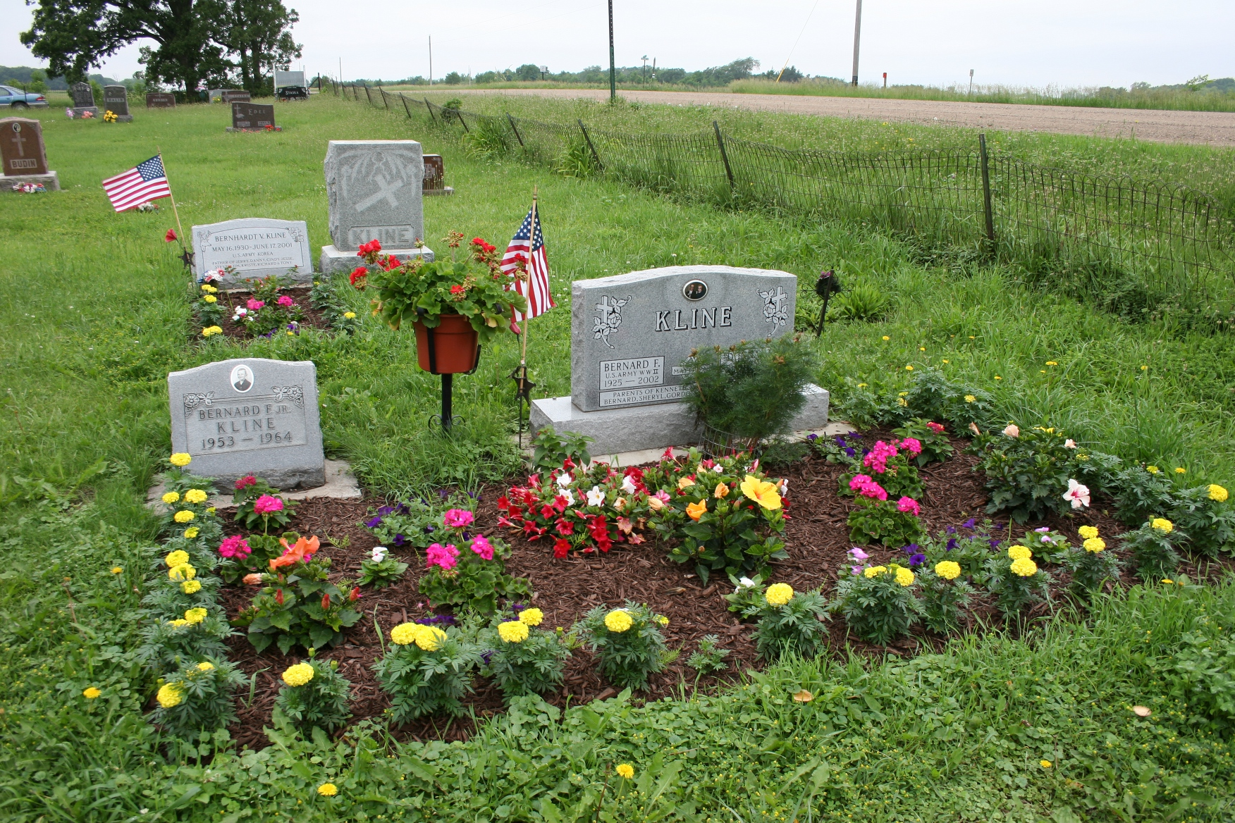 Trebon, Kline graves | Minnesota Prairie Roots