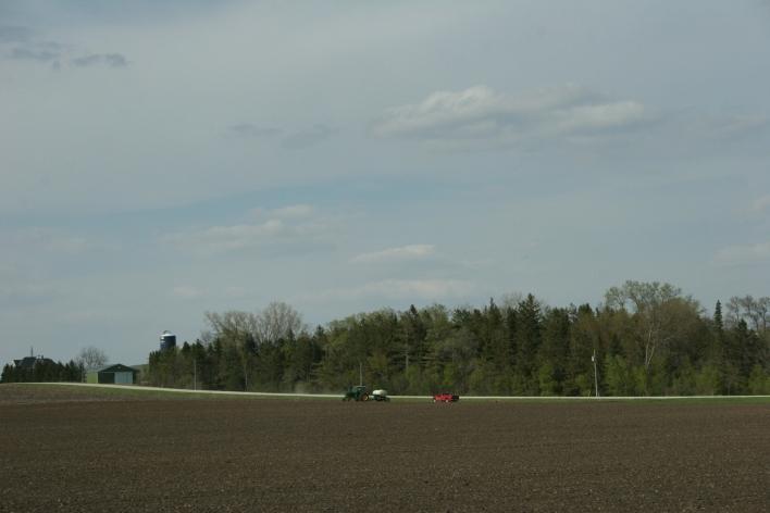 Working the land in southeastern Minnesota.