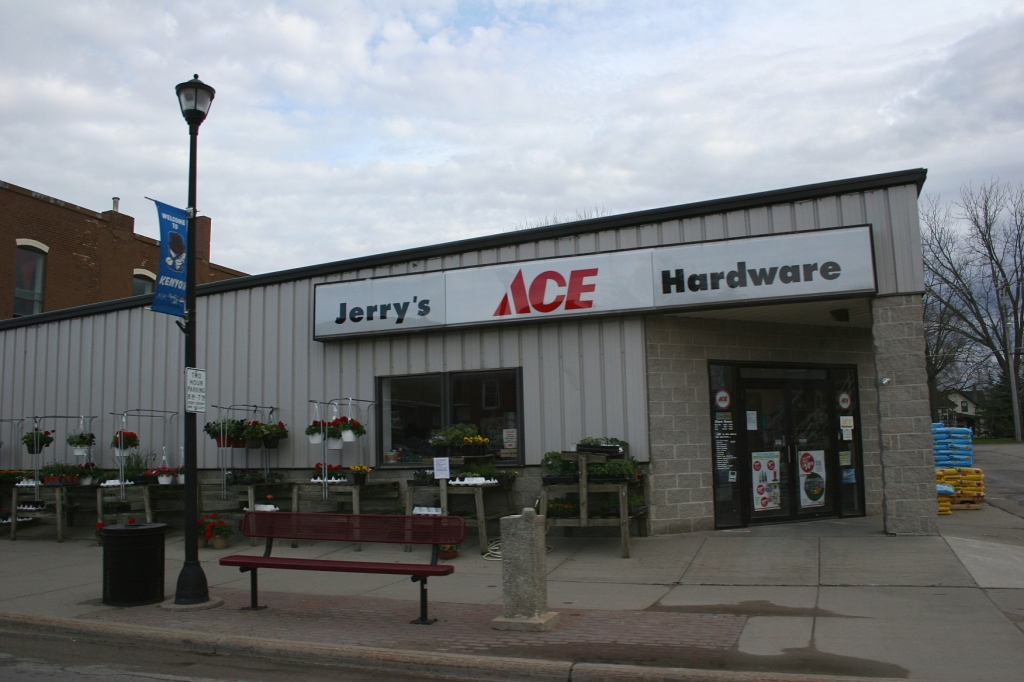 Jerry's ACE Hardware in the small town of Kenyon, Minnesota.