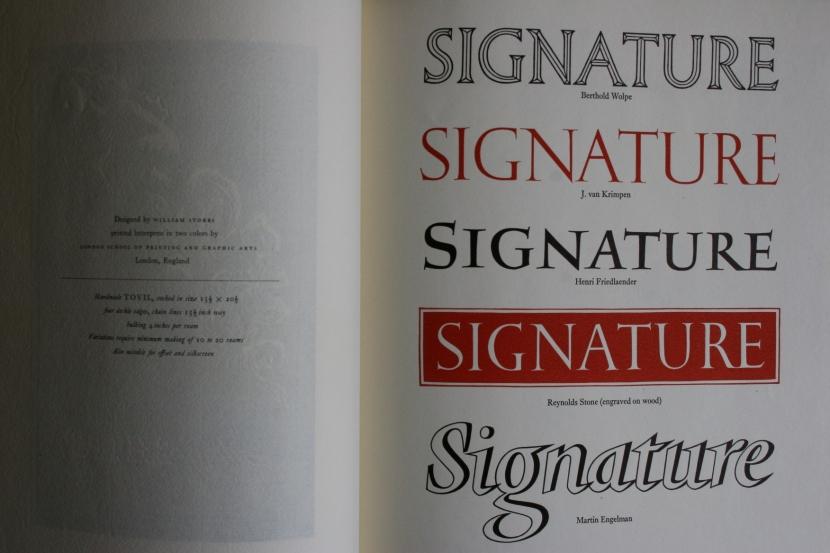 Signagture