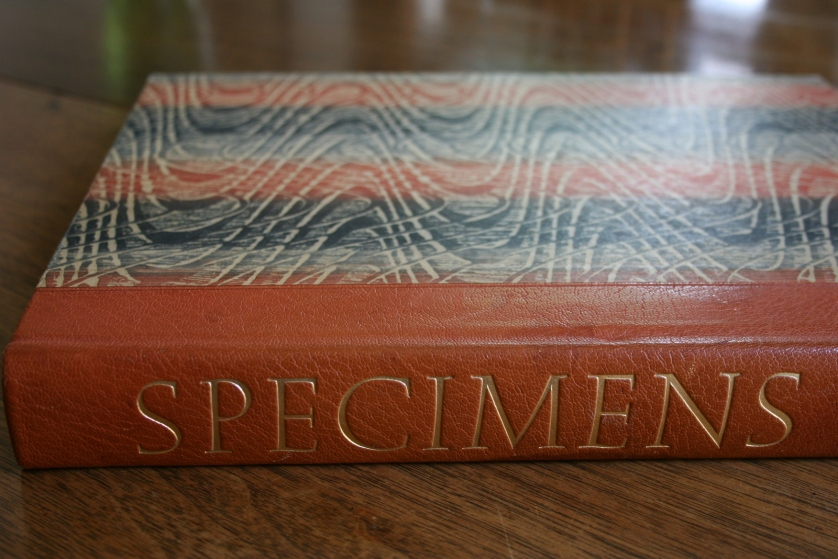Specimens, an incredible collection of fine papers and printing.