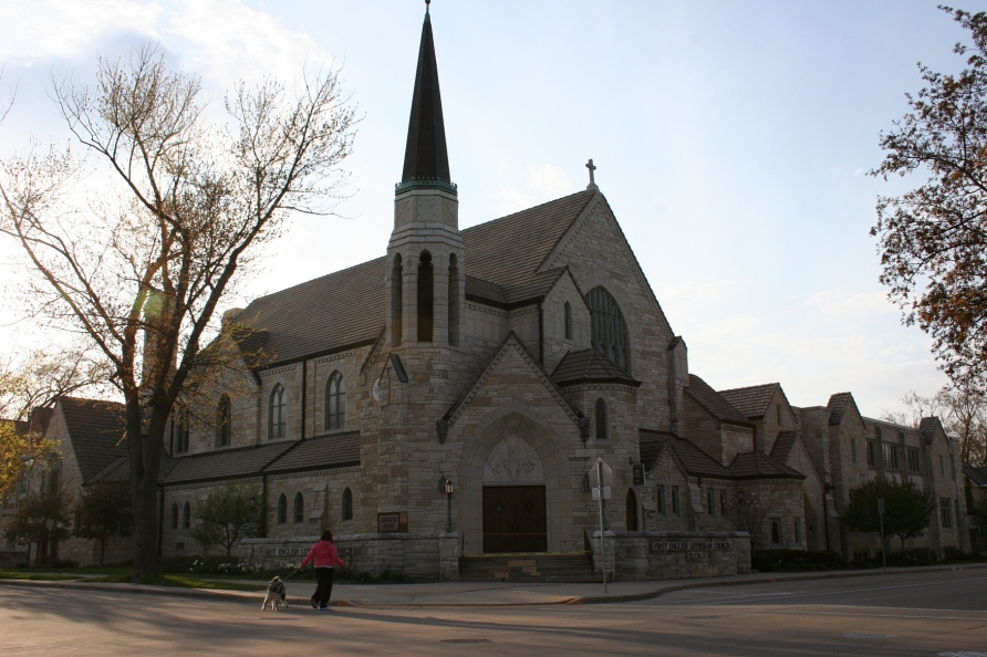 Impressive First English Lutheran Church.
