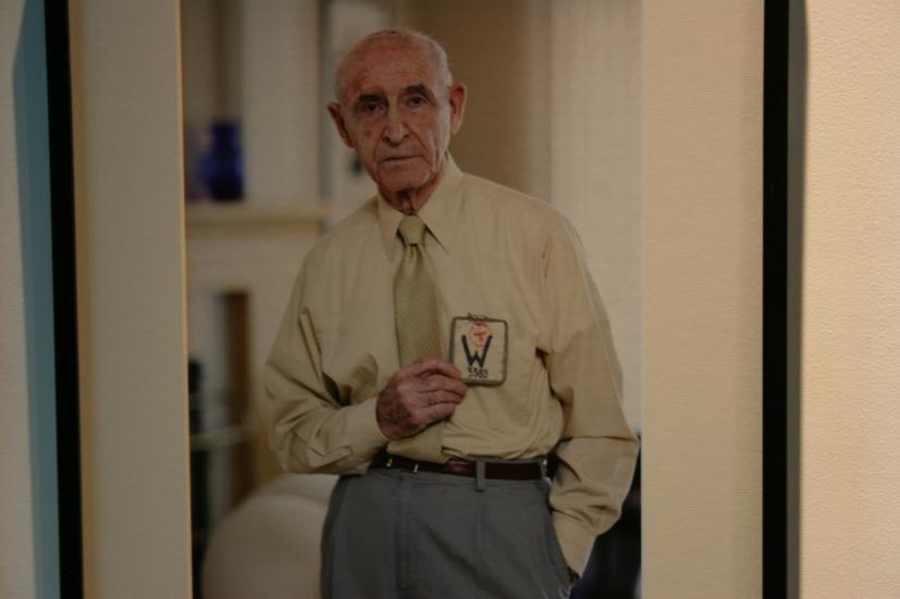 Holocaust survivor Leo Weiss.