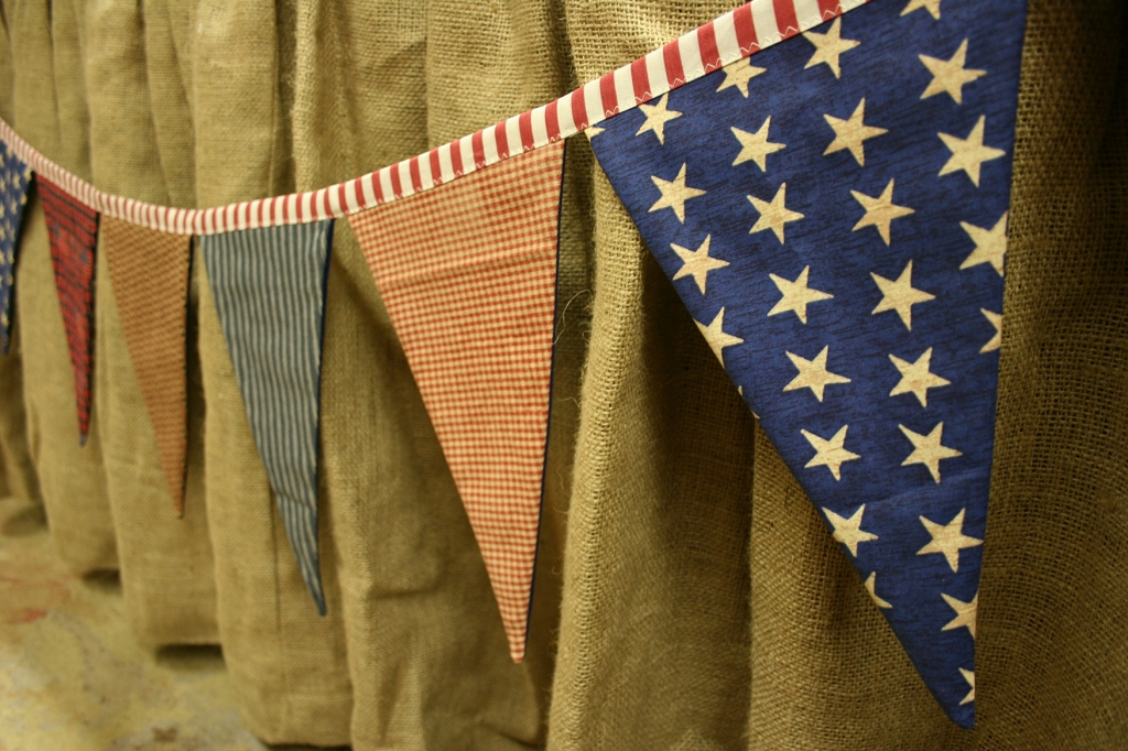 Fourth of July, banners