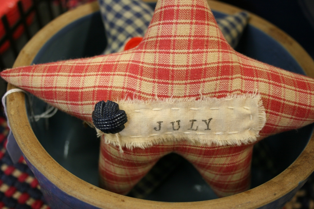 Fourth of July, star