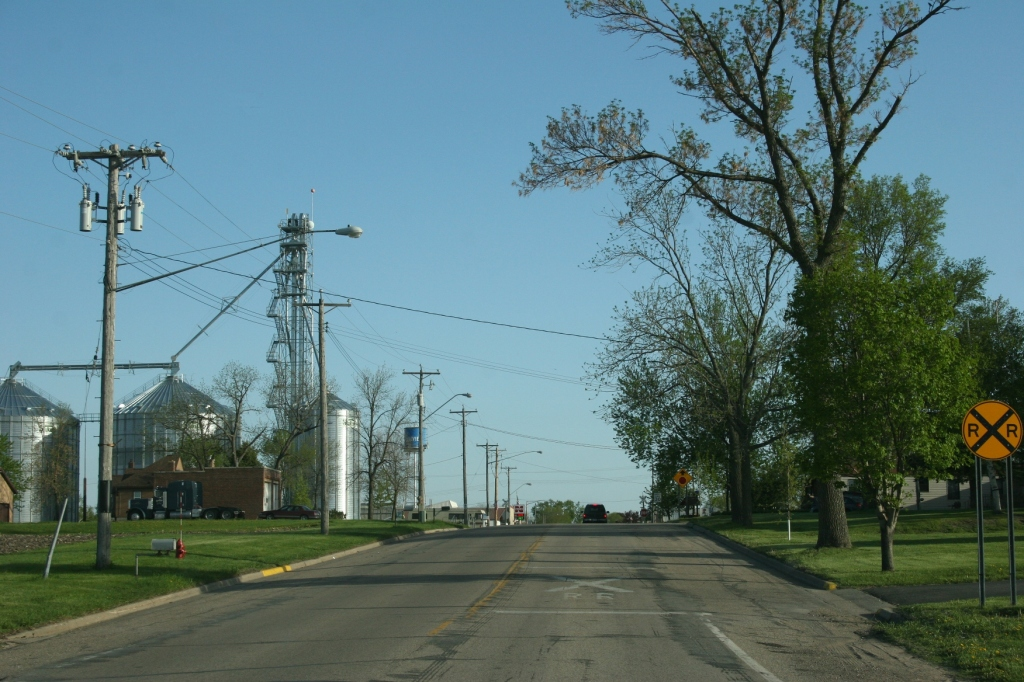 Entering Belview from the north.