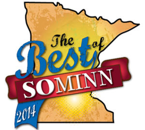 southern minnesota scene best of logo