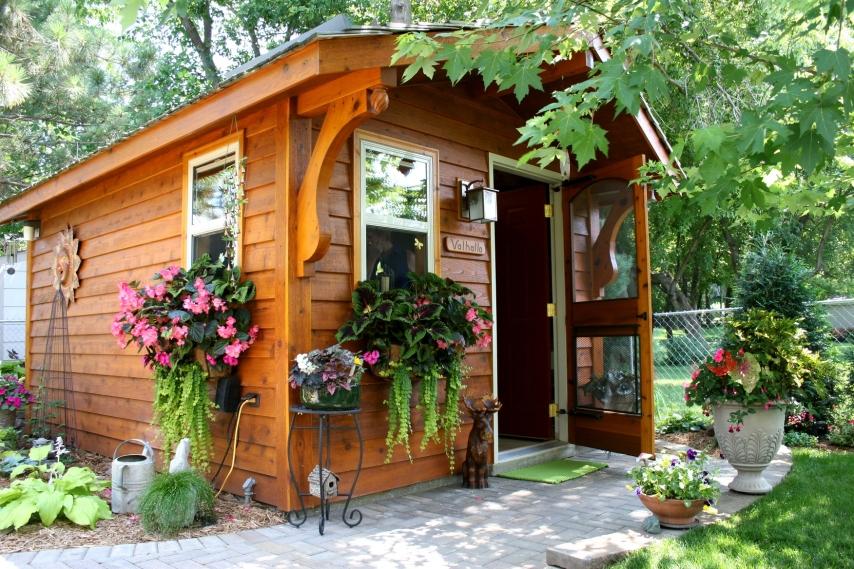 The garden shed, Valhalla.