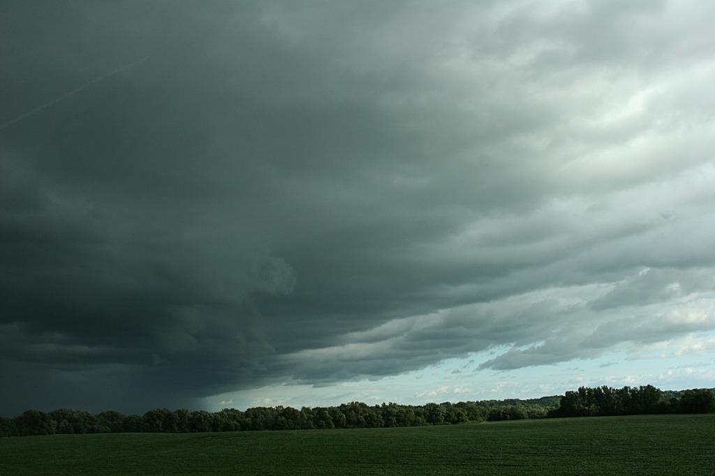Along U.S. Highway 14 between New Ulm and Courtland.