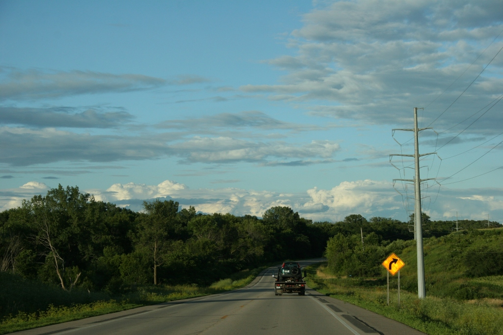 Just east of Waterville along Minnesota State Highway 60.