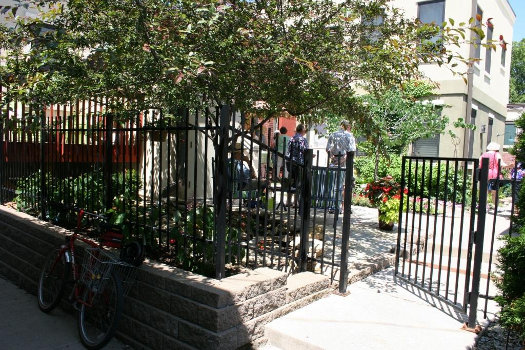 The gateway garden entry.
