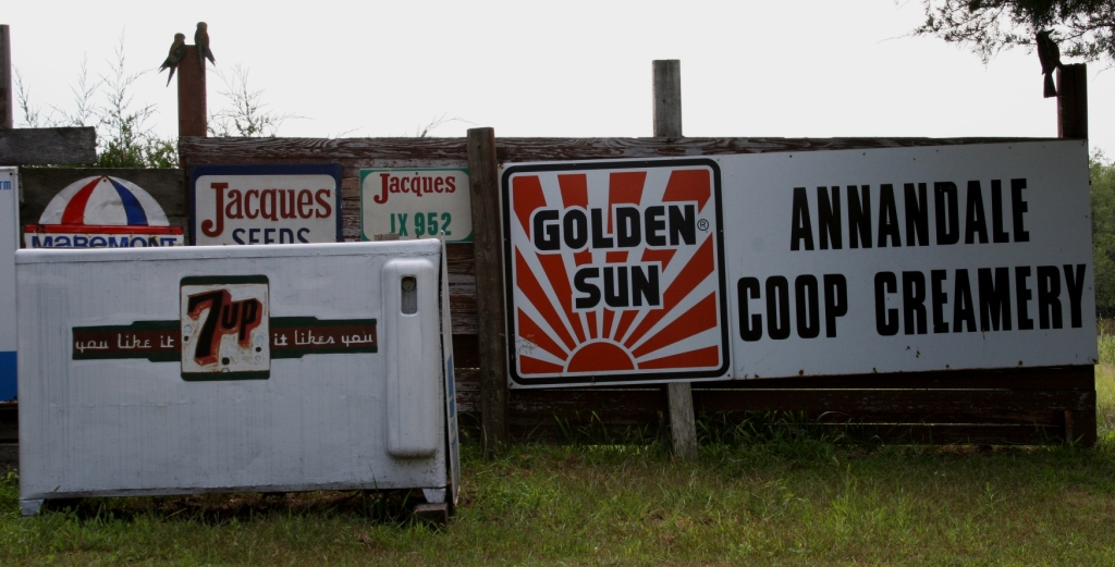More signs to appreciate from this rural area.