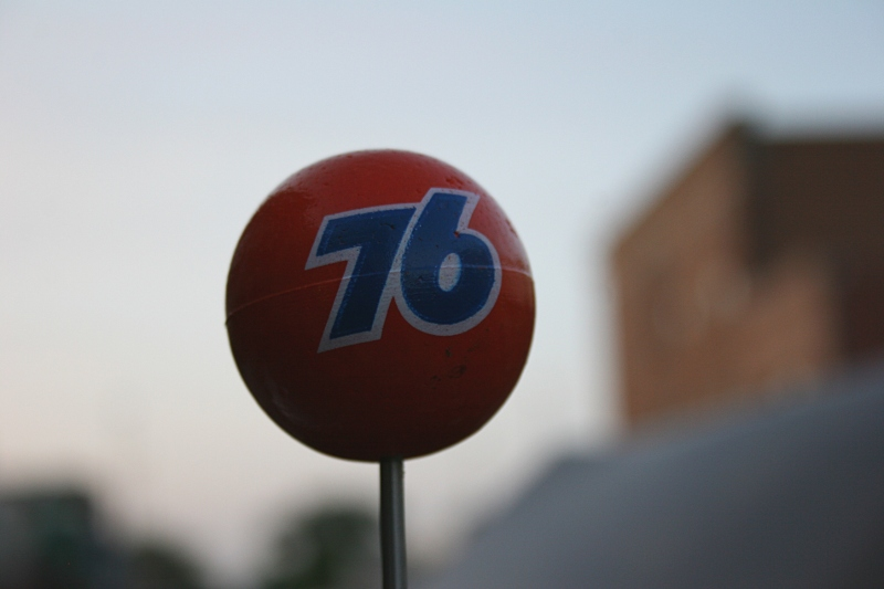 Remember how common these Phillips 76 balls once were on car antennas?