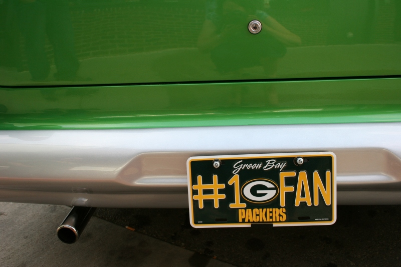 Proud to be a Green Bay Packers fan.
