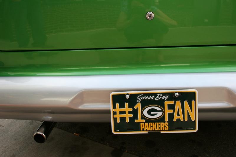 Proud to be a Green Bay Packers fan.