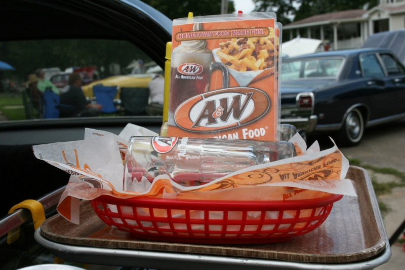 Remember going to the A & W drive-in?